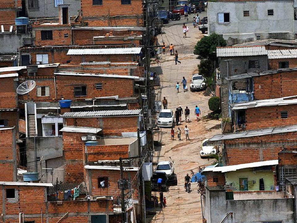 Einmal Baracke, immer Baracke? Armenviertel in São Paulo    | Foto: dpa