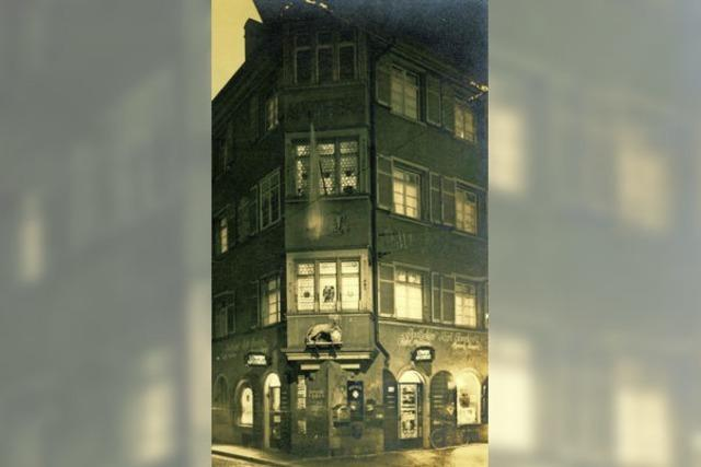 Die Freiburger Löwen-Apotheke befand sich einst in einem mittelalterlichen Haus