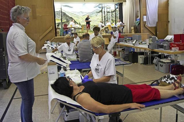 Blutspenden am Ferienbeginn