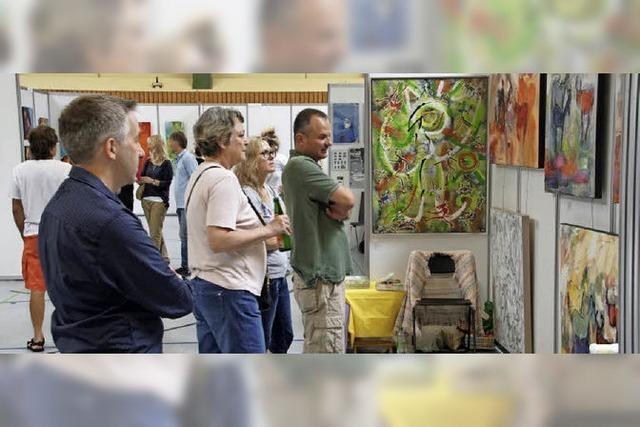 Kunsttage lockten am Wochenende mit großer Vielfalt