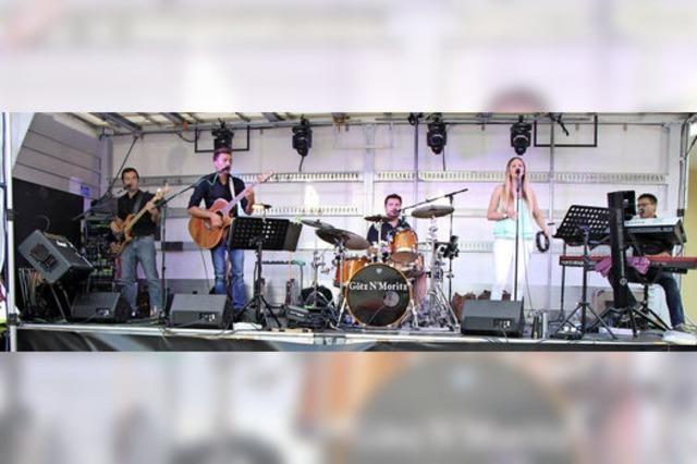 Open Air Konzert in Riegel
