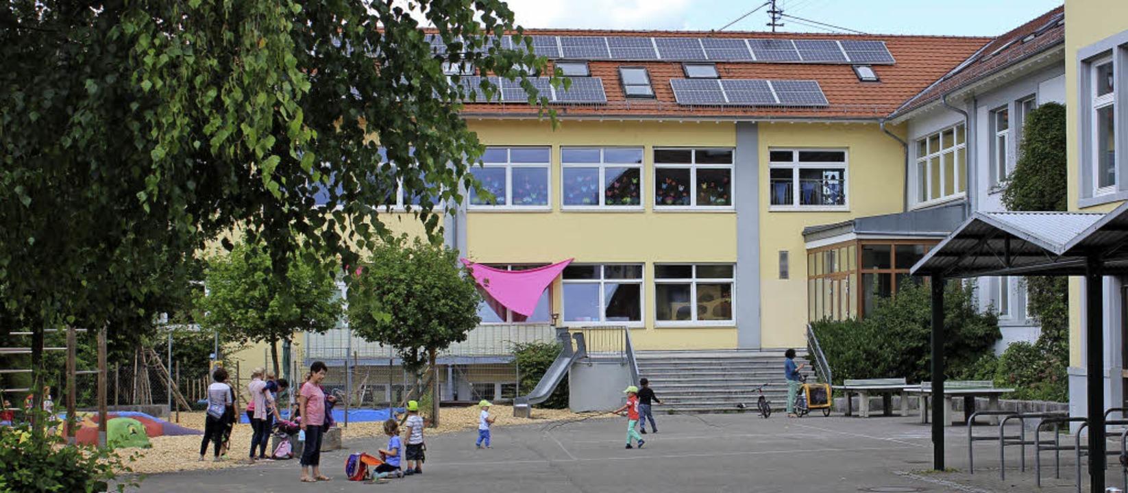 Die Kleinkindbetreuung liegt im etwas ...hen sich einen größeren Außenbereich.   | Foto: Mario Schöneberg