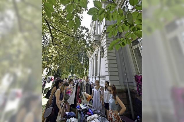 Frollein-Flohmarkt: Shopping-Party statt Einkaufsstress