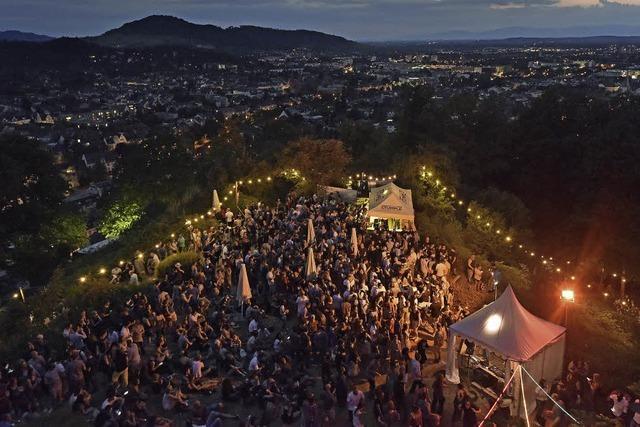 Tanzen mit Aussicht beim Schlossbergfest