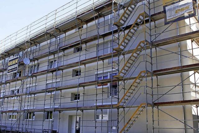 Bauverein sorgt sich um bezahlbaren Wohnraum