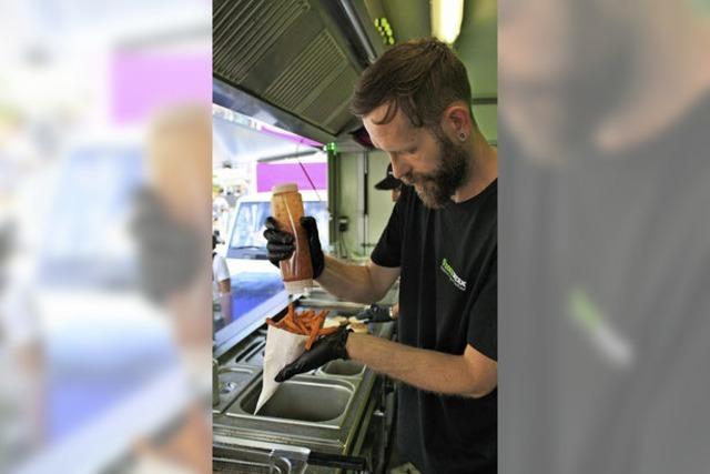 Ansturm auf die Food Trucks