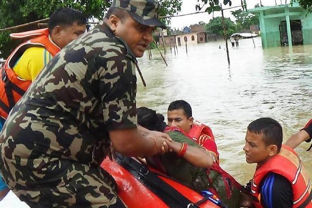 Monsun sorgt in Nepal für schwere Verwüstungen