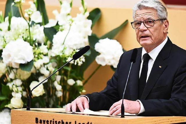 Gedenkgottesdienst für die Opfer in München