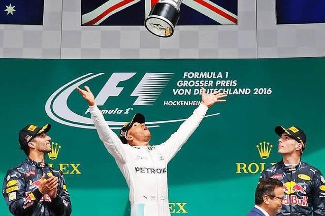 Grand-Prix: Hamilton siegt, Rosberg Vierter
