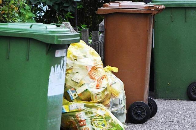 Trotz weniger Pro-Kopf-Müll leichter Anstieg der Abfallgebühren
