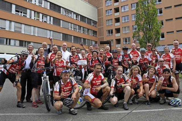 Radtour macht Station in Lahr