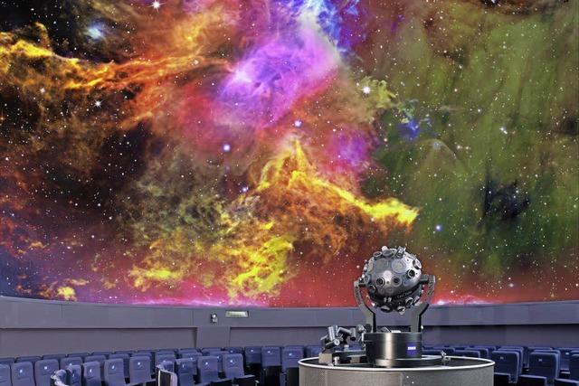 Das Freiburger Planetarium bietet in den Sommerferien ein erweitertes Angebot
