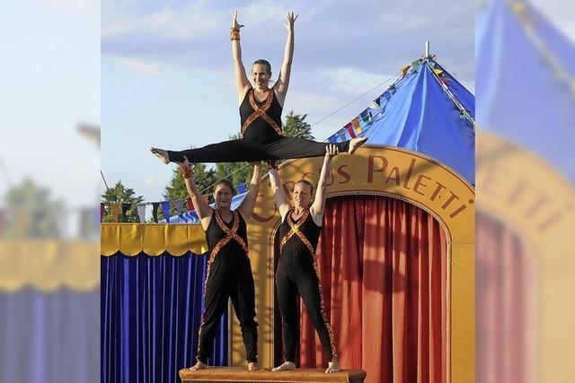 Zirkus als Fest für alle Sinne