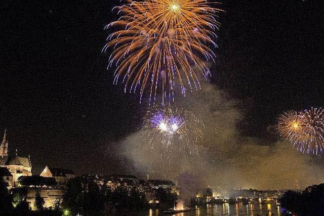 90 000 Menschen feierten schon am Vorabend des 1. August