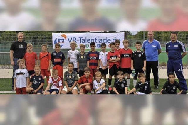 Südbadischer Fußballverband sucht junge Talente