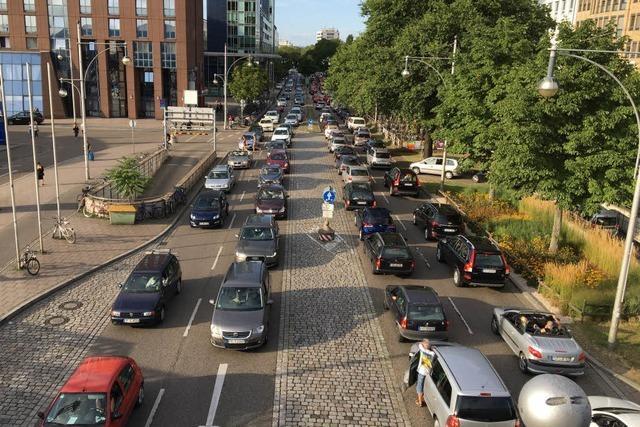 Schweizer, Baustelle, Stau: Freiburgs Straßen sind dicht