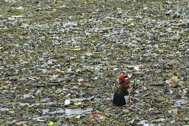 Ein Meer aus Müll