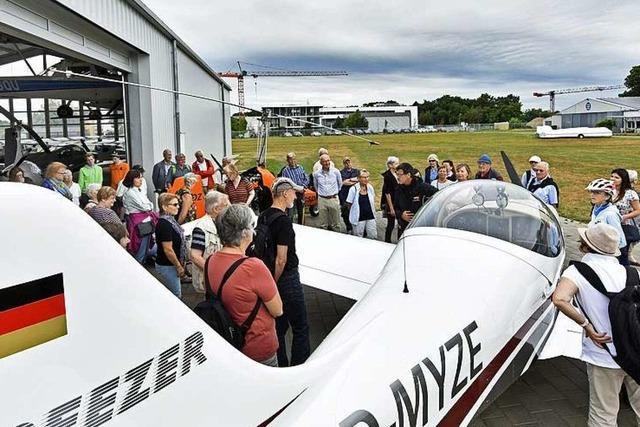 Fotos: Die BZ-Ferienaktion zu Besuch auf dem Freiburger Flugplatz