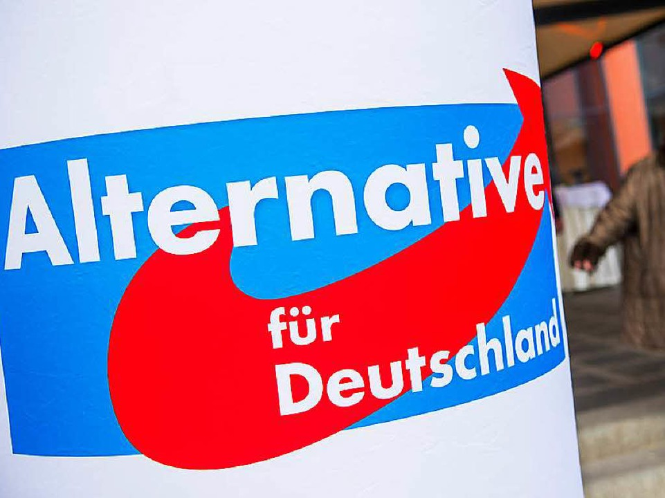 Das Logo der Alternative für Deutschla...ei in Bayern im Jahr 2014 (Archivbild)  | Foto: dpa