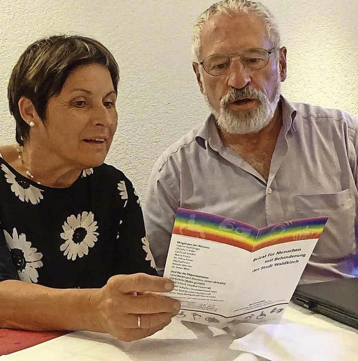 Sprecherin Gertrud Krastel und Sprecher Michael Lutz.     Foto: ZVG