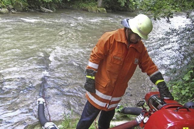 Feuerwehren leisten bei Alarmübung gute Arbeit