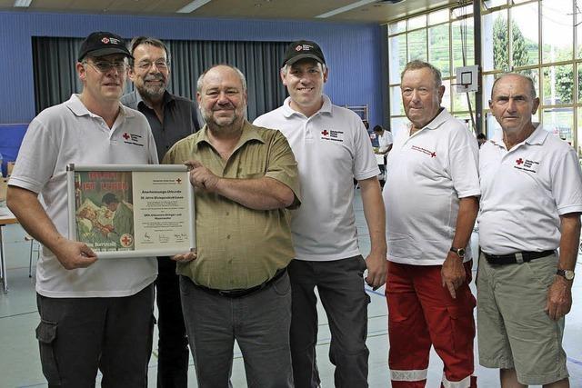 Über 50 Jahre Blutspenden gesammelt