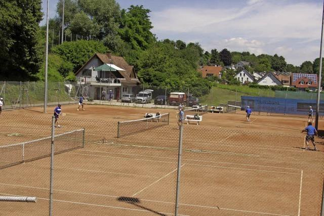 Der Tennisclub hat Geburtstag