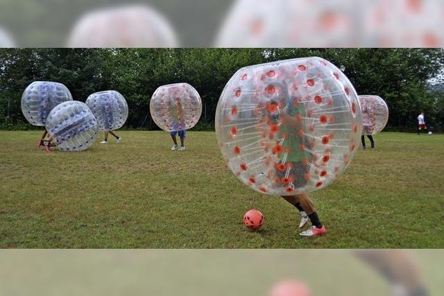 Bolzer, Stimmung, Bumper-Soccer