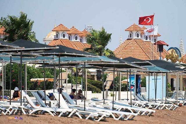 Kaum Touristen mehr: Erdogans Boom droht ein jähes Ende