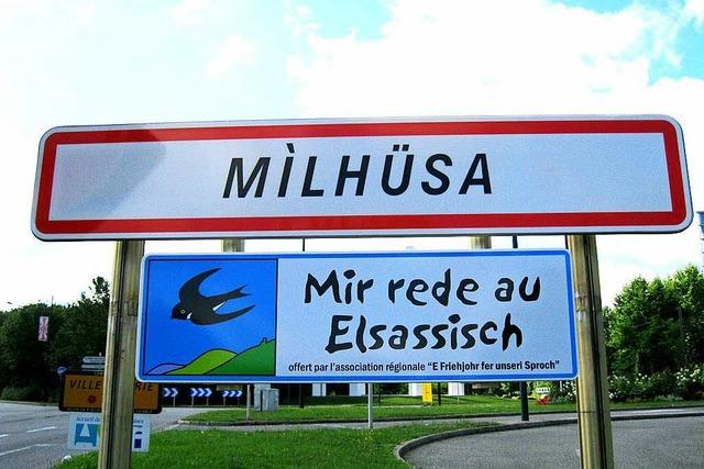 Dialekt-Projekt: Die elsässische Sprache darf nicht sterben