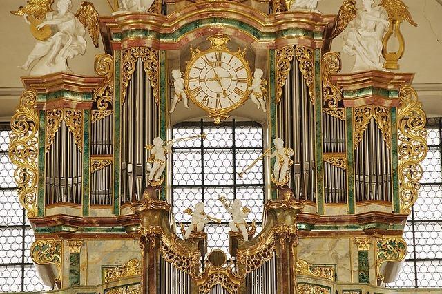 Orgelkonzerte in der Barockkirche der Schwarzwaldgemeinde St. Peter
