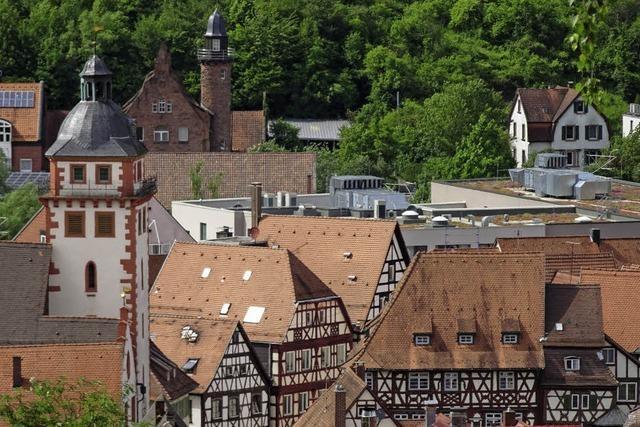 Fachwerk in Mosbach