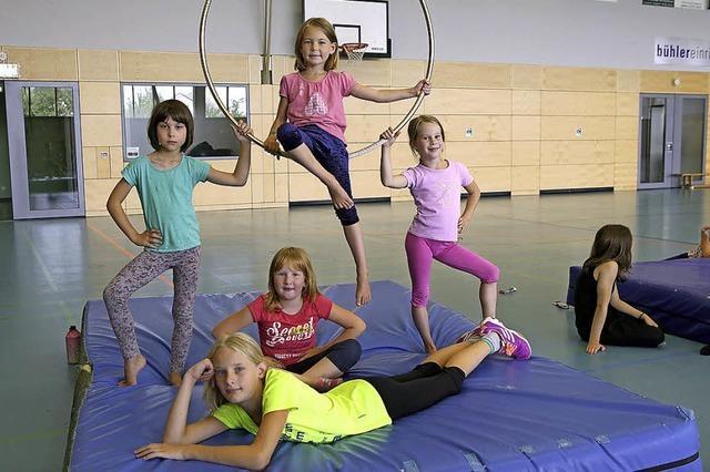 Kinder machen gerne Zirkus