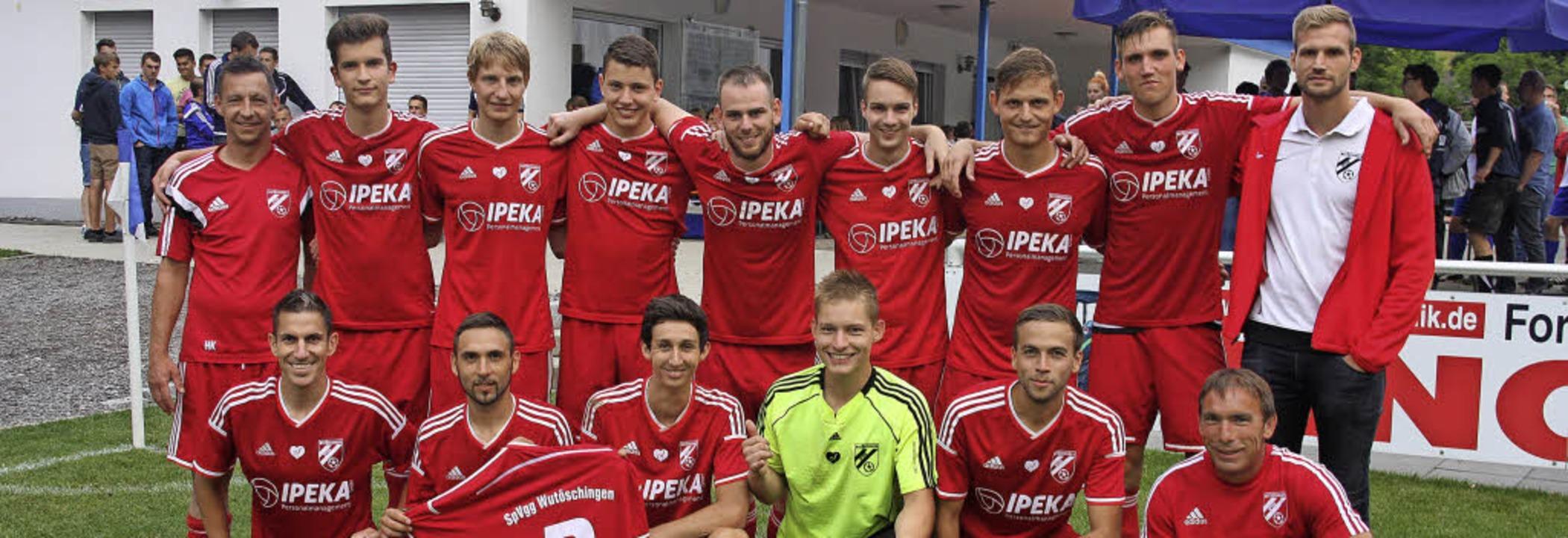 Die Titelverteidiger der hochklassigen...Turnier der Sportwoche des FC Weizen.   | Foto: Dietmar Noeske