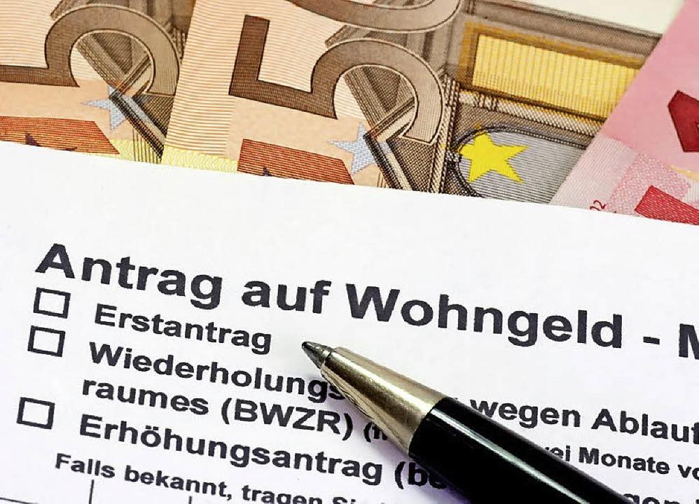 Ein Antrag auf Wohngeld   | Foto: fotolia.com/Birgit Reitz-Hofmann