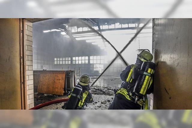 Brandursache steht noch nicht fest