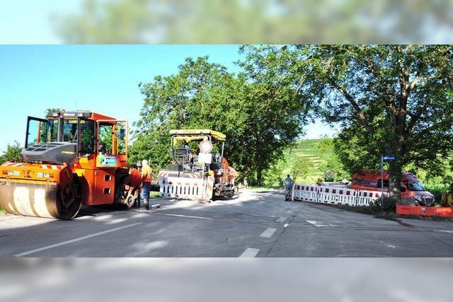 Ende August soll der Verkehr auf der L114 wieder rollen