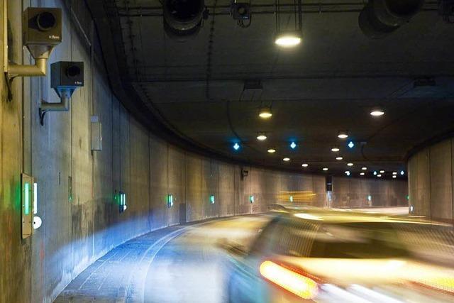 Blitzer im Schützenalleetunnel erwischt in einer Woche über 10.000 Autos