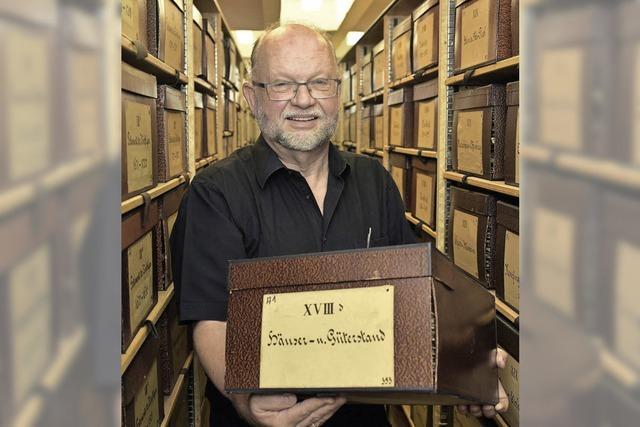 Der Chef des Stadtarchivs geht nach 33 Jahren in den Ruhestand