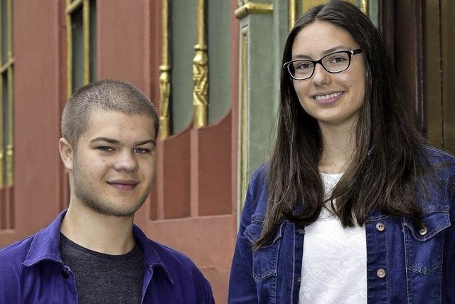 Carl Guttmann und Josephine Hebling sind im Kinder- und Jugendbeirat des Deutschen Kinderhilfswerks