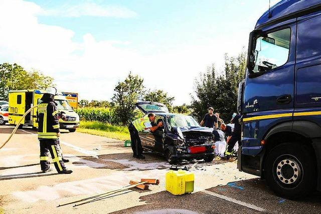 Fahrer stirbt bei Unfall in Orschweier