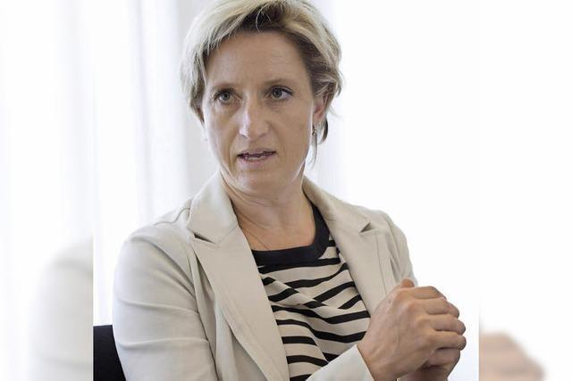 Wirtschaftsministerin Nicole Hoffmeister-Kraut zu Gast bei der BZ