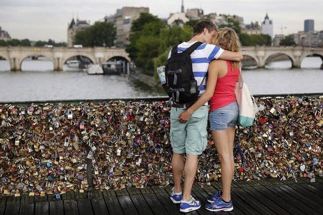 Keine Liebesschlösser mehr in Paris