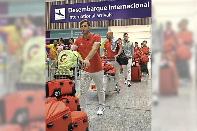 Der Countdown in Rio läuft