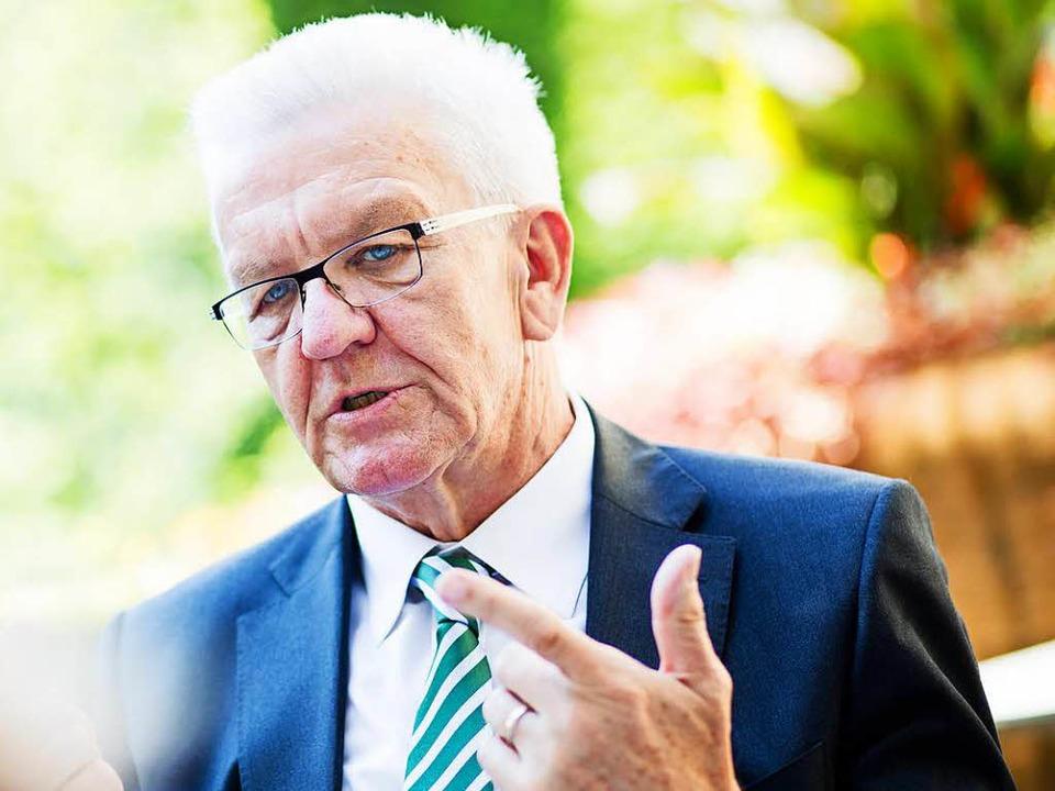 Winfried Kretschmann (Grüne)  | Foto: dpa
