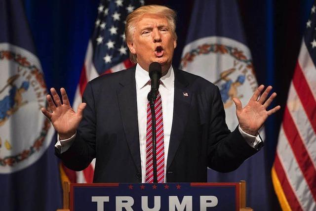 Trump streitet mit Mitgliedern seiner Partei