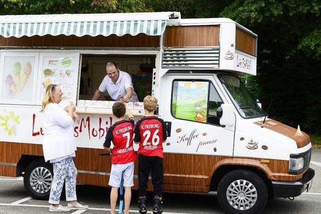 Eisverkäufer will auf Freiburgs Straßen Eis verkaufen – darf aber nicht