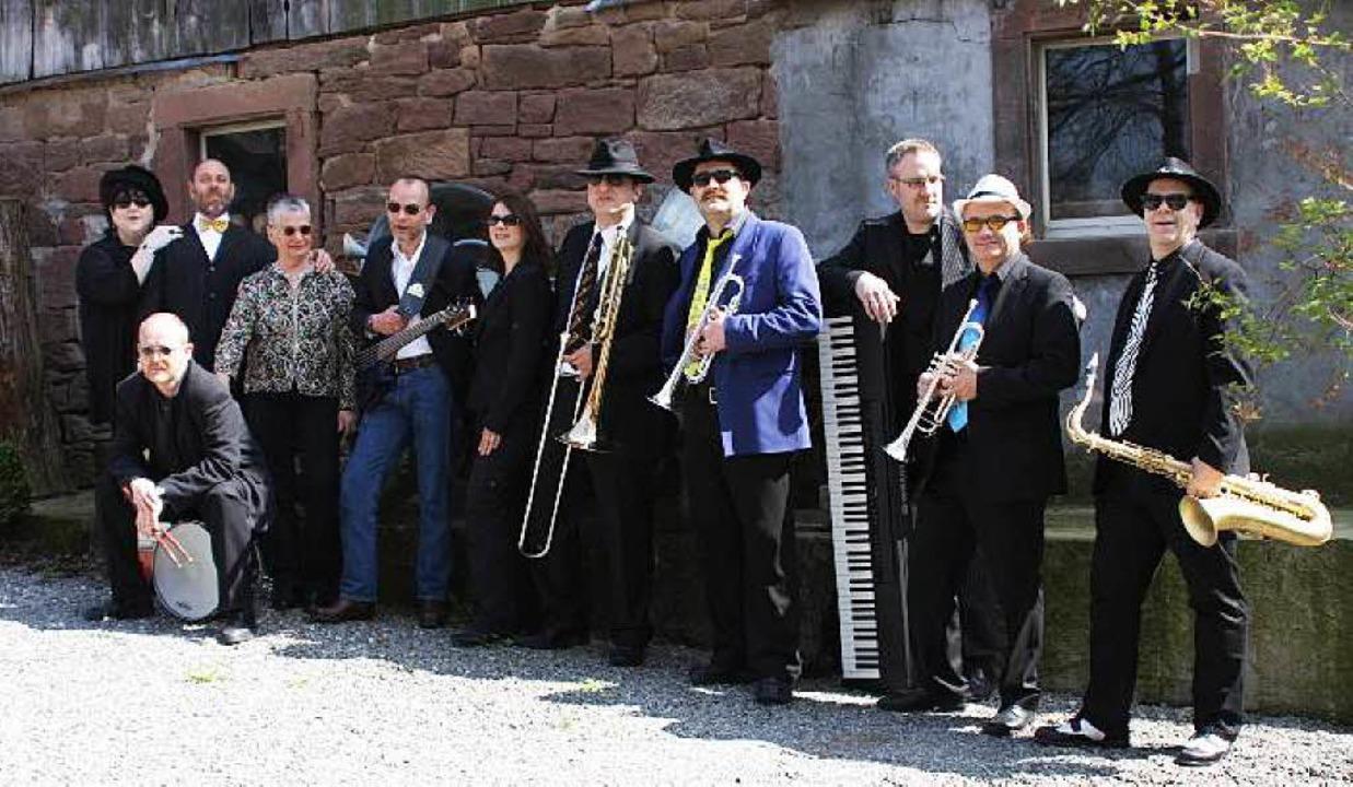 "Die Band ""Soul's back in t...Abend in der Rheingießenhalle in Rust.    Foto: Privat"