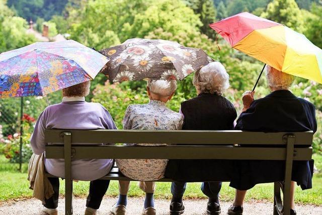 Immer mehr sehr alte Menschen leben im Land