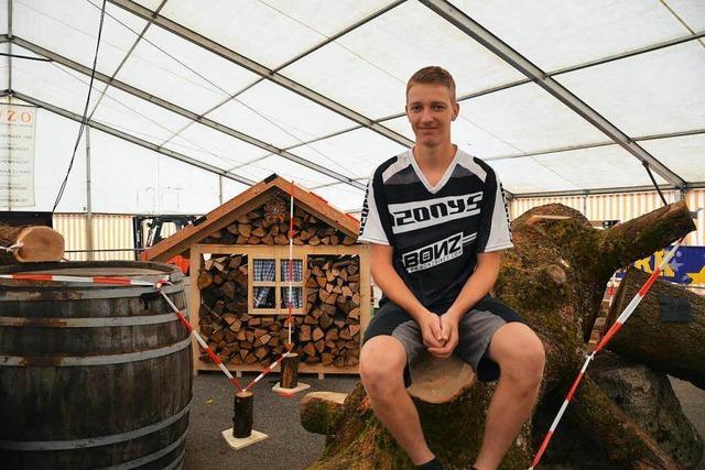 BZ-Interview: Björn Bührer aus Freiamt ist deutscher Meister im Fahrrad-Trial